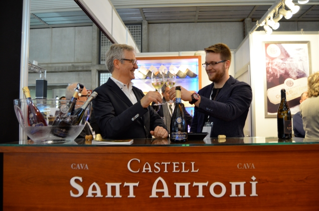 Castell Sant Antoni, father and son constellation tasting for great success at the fair!